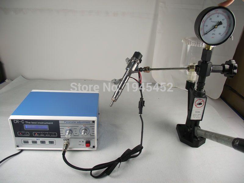 Free shipping!CR-C multifunction diesel common rail injector tester and S60H Nozzle Validator,Common rail Injector tester tool