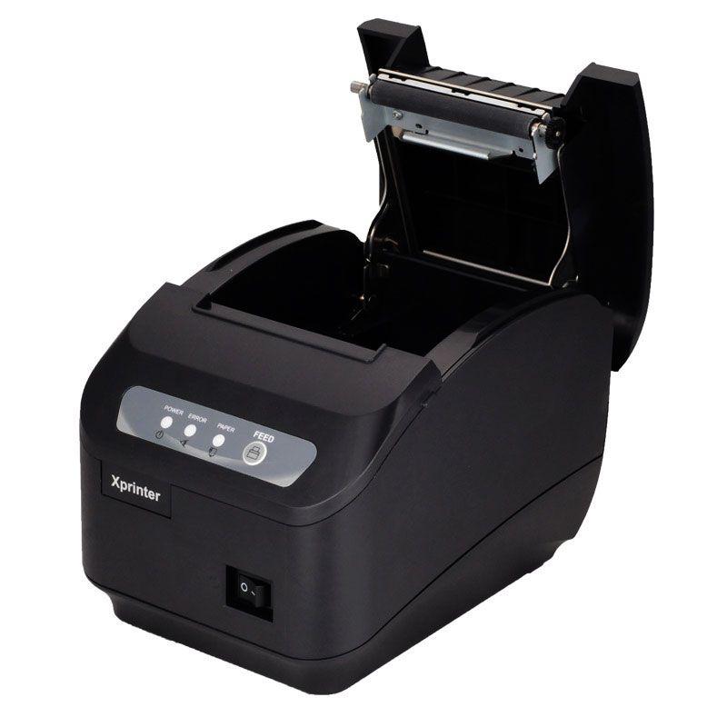 POS drucker qualität 200 mm/s 80mm thermodrucker Küche drucker Autocutter drucker mit USB + Serial/Lan-anschluss