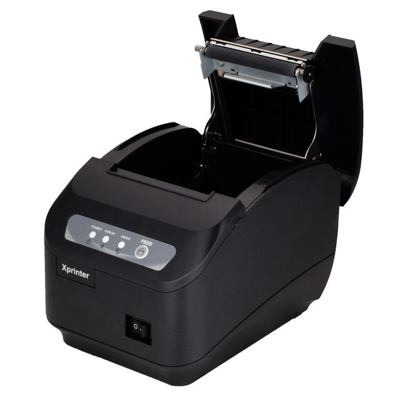 POS printer High <font><b>quality</b></font> 200mm/s 80mm thermal printer Kitchen printer Auto Cutter printer with USB+Serial / Lan Port
