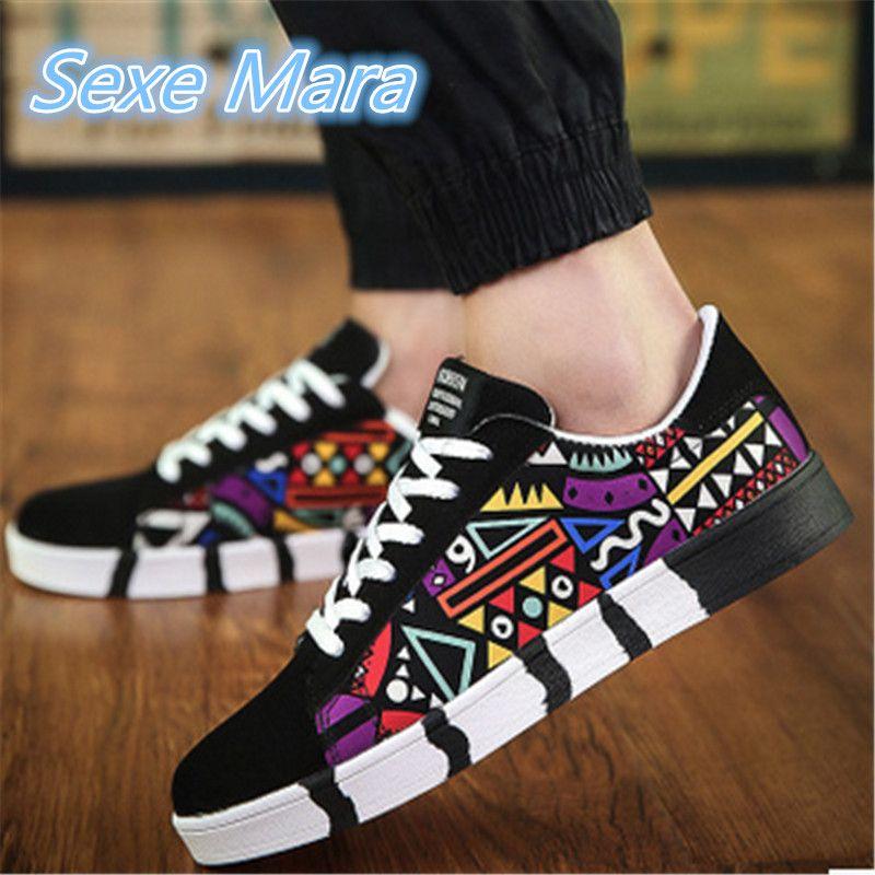 2016 Estilo de La Moda Stan Plana Zapatos Altos Hombres Zapatos Primavera/Otoño Zapatos Ocasionales Respirables Skate Zapatos Tamaño de Los Hombres 39-44