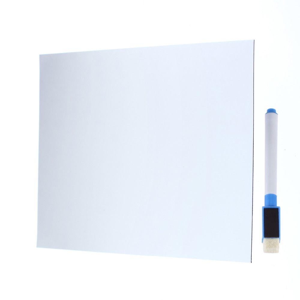 Tableau blanc tableau d'écriture magnétique tableau d'écriture réfrigérateur tableau blanc amovible décoration de la maison tableau d'affichage/bloc-notes