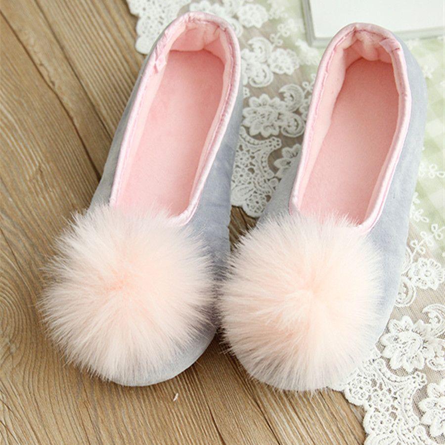 Offre spéciale femmes vêtements d'intérieur chaussures maison pantoufles doux à la recherche de deux couleurs printemps automne porter de mode Style confortable porter