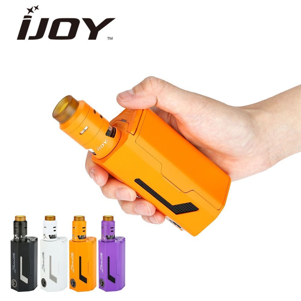 Original 300W IJOY MAXO Zenith Kit with 2.6ml RDTA 5S Tank Airflow Control Powered by 3x18650 Huge Power Vaping No Battery
