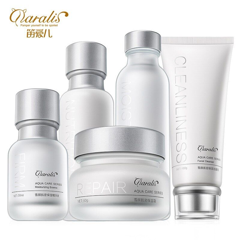 Daralis Skin Care Sets Moisturizing Cosmetic Series Deep Cleaning Face Cleanser Emulsion Nourish Toner Lotion Essence Cream