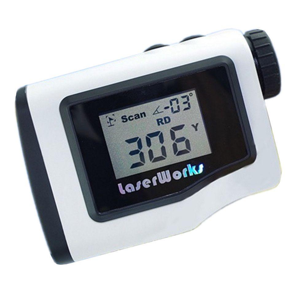 Golf entfernungsmesser 600 mt handheld LCD display scope jagd laser-entfernungsmesser messbereich monokulare wasserdicht 3 farben 005