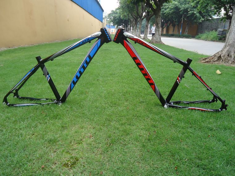 NEW LUTUwang ATX600 quality 7075 aluminum alloy 26 17 16 inch light weight Tapered headset tube mountain bike frame