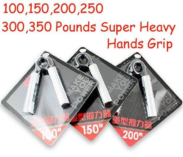 100 150 200 250 300 350 livres hommes bodybuilder lourd un type Main Grip pince Dispositif de gym à domicile mains de Force préhension
