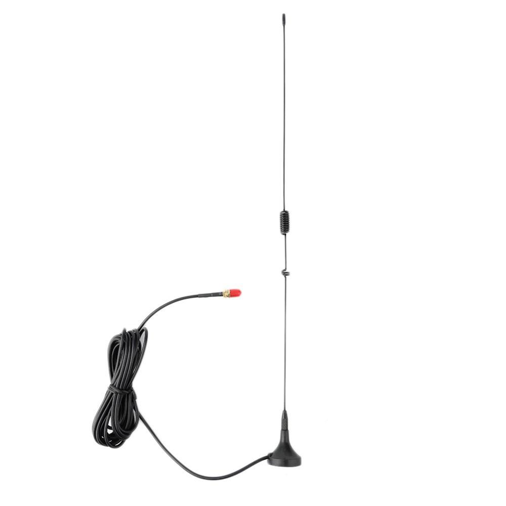 Neueste Auto Montiert 3.0Db SMA-F Dual Band Mobile Radio Antenne für NAGOYA UT-106UV Schwarz Großhandel