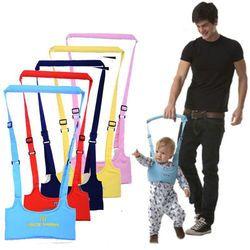 2017 nueva marca lindo del niño del bebé caminar niño Arnés de seguridad auxiliar Walk aprendizaje caminar asistente cinturón