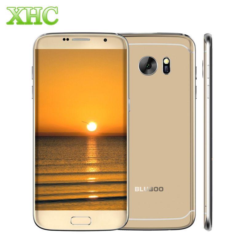 BLUBOO <font><b>Edge</b></font> 5.5 inch Mobile Phone RAM 2GB ROM 16GB Android 6.0 MTK6737 Quad Core 13MP+8MP Fingerprint 4G LTE Dual SIM Smartphone