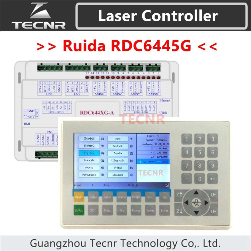 TECNR Ruida RDC6445 RDC6445G laser maschine controller für co2 laser gravur schneiden maschine upgrade RDC6442 RDC6442G