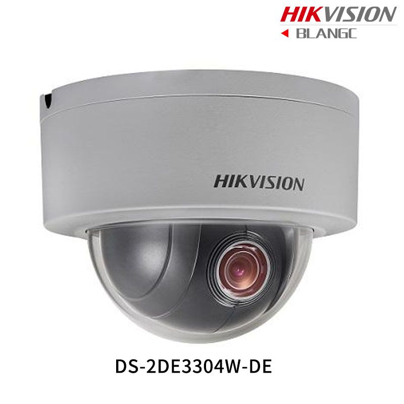 In Stock Hikvision Original English PTZ DS-2DE3304W-DE 3MP Mini PTZ IP Camera 4X Zoom IP67 PoE 2.8-12mm Day/Night CCTV Camera