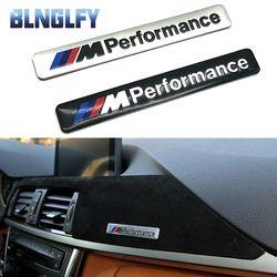 M Performance Motorsport Logo En Métal Autocollant De Voiture En Aluminium Emblème Grill Badge pour BMW E34 E36 E39 E53 E60 E90 F10 F30 M3 M5 M6