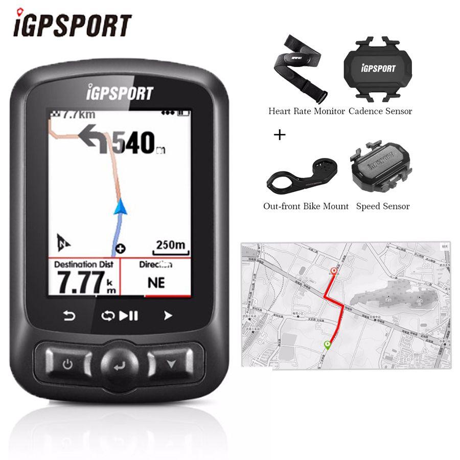 IGPSPORT IGS618 Fahrrad Computer GPS ANT + Bluetooth Wireless Hintergrundbeleuchtung WaterproofIPX7 Radfahren Tachometer Bike Digitale Stoppuhr