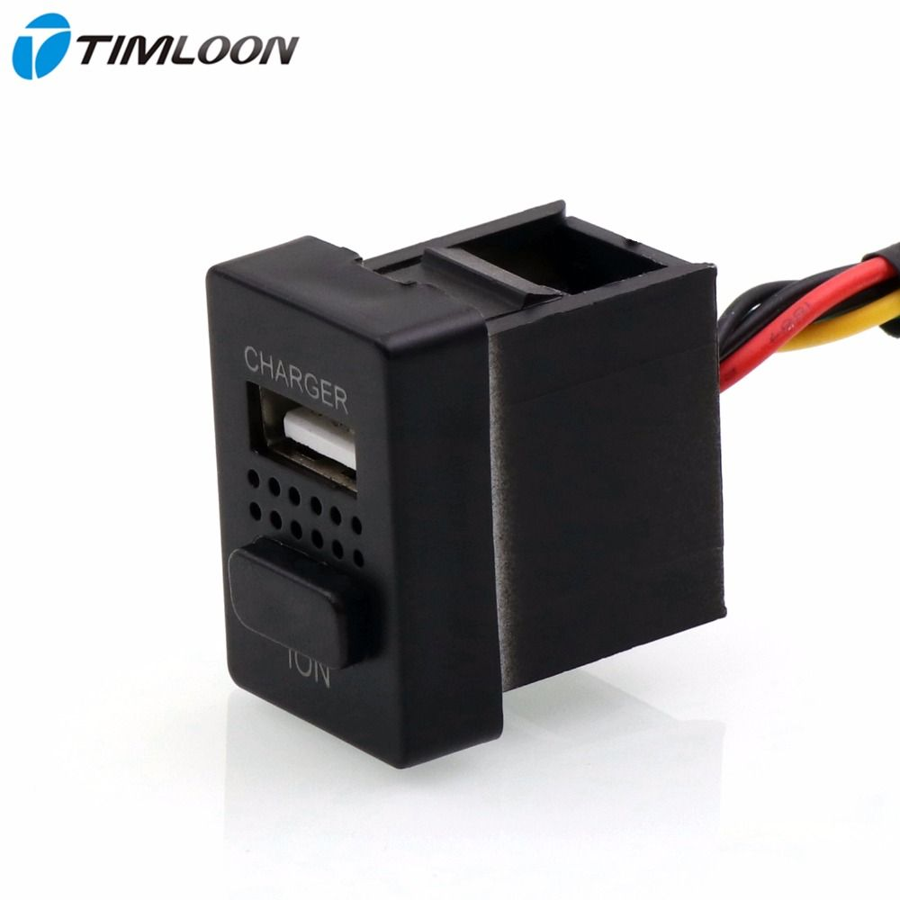 2in1 Car 5V 2.1A USB Interface Charger,Car Air Purifier,Ionizer,Negative Ion Use for TOYOTA,Camry,Corolla,Yaris,RAV4,Reiz,Cruise