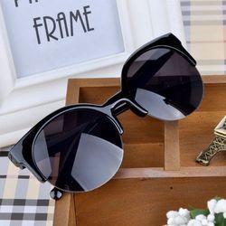 2019 новые мужские брендовые дизайнерские Винтажные Солнцезащитные очки женские полубесконечные ретро мужские солнцезащитные очки Овальны...