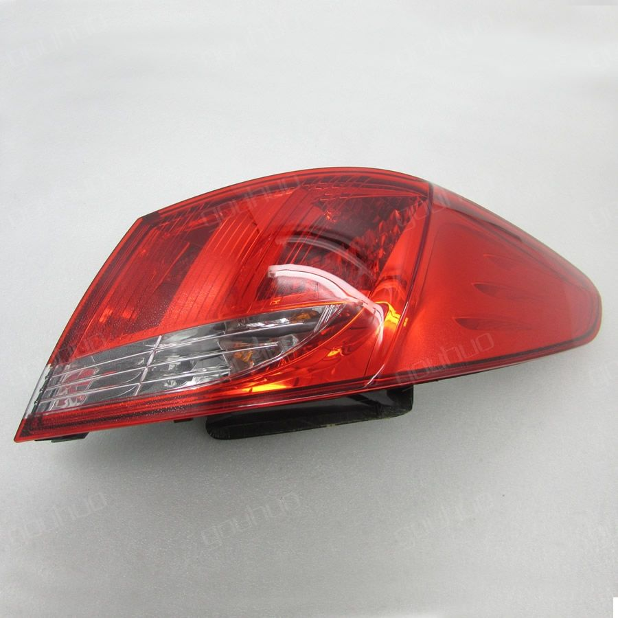 for Peugeot 408 2010 - 2012 outside taillight rear light tail lamp assembly tail lights 1PCS