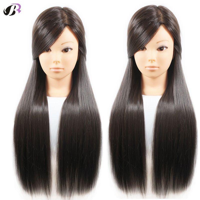 Offre spéciale Mannequins d'entraînement de tête de cheveux femme 26 pour la coiffure