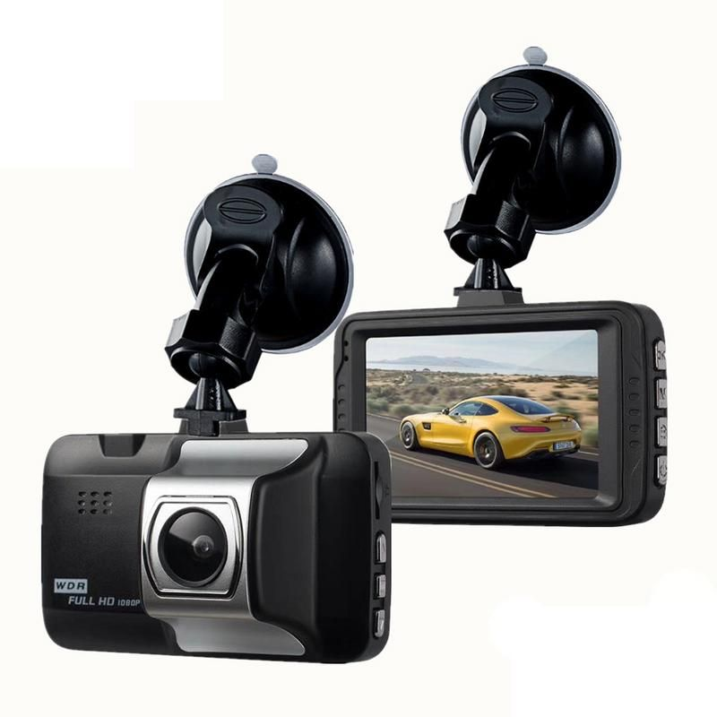 Dash Cam Car 1080P Inch HD Car Camera Driving Recorder 140 Wide Angle Car DVR Vehicle Dash Camera G-Sensor