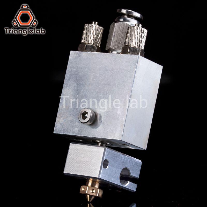 Trianglelab Arethusa liquld cooling hotend for 3D printing peek PA filament FOR E3D V6 HOTEND titan AQUA water cooling