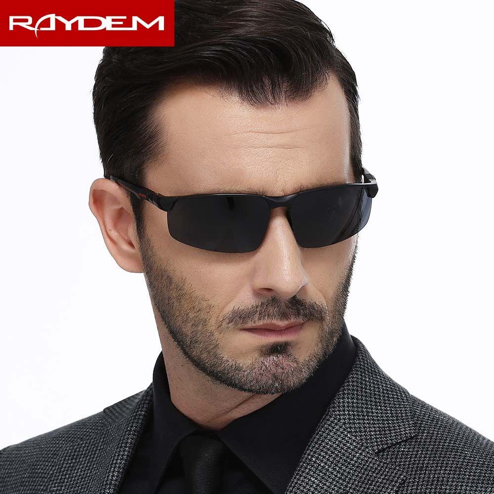 2018 nouveau aluminium magnésium hommes lunettes de soleil polarisées Cool lunettes de soleil oculos hommes sport lunettes conducteurs conduite lunettes de soleil