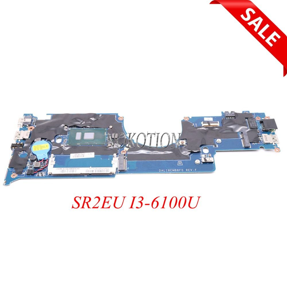 NOKOTION DALI8EMB8F0 FRU 01AV948 for Lenovo YOGA 11E Laptop Motherboard SR2EU I3-6100U DDR3L
