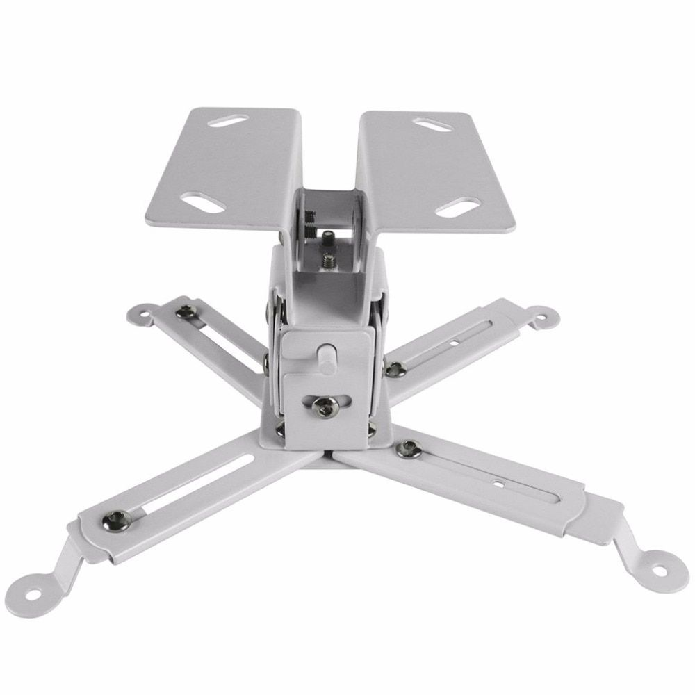 Durable Projector Ceiling Bracket Universal Projector Holder Adjustable 43-65CM Hanging Bracket Swivel Mount Holder Accessories