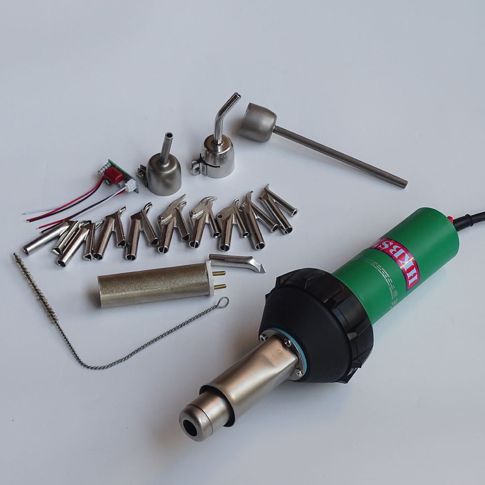 HKBST plastic welding gun with 17pcs of accessories