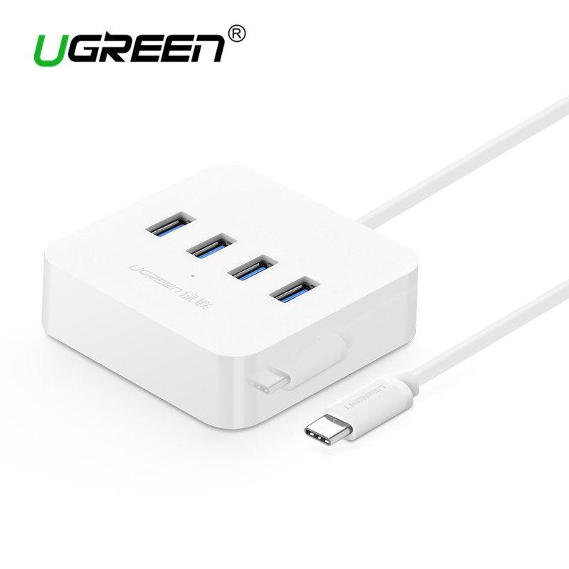 Ugreen USB C HUB 4 Ports OTG USB 3.0 HUB with Led Indicator Type C Splitter to USB Hub for Macbook Xiaomi4C USB-C Type-c Hubs