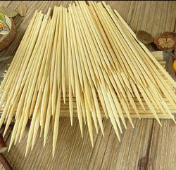 200 pcs/lot 4mm * 30 cm qualité tornado de pommes de terre brochettes de bambou stickes BARBECUE De Sucrerie autocollants Twister Coton Soie Cuisine, salle à manger et bar