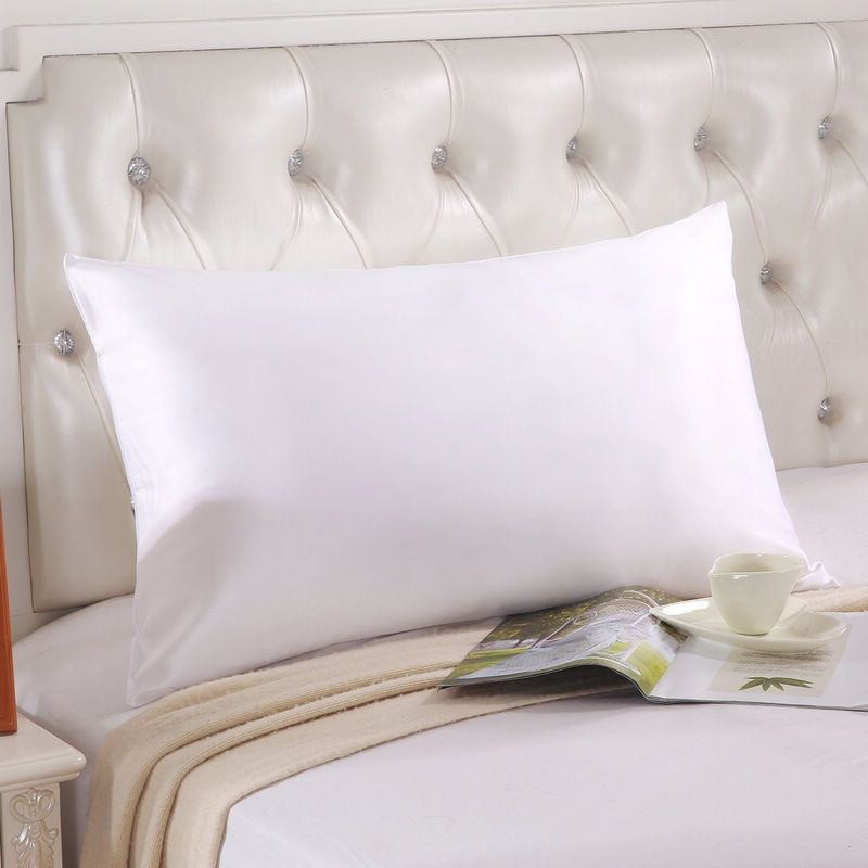 High-end custom 100% silk pure double side Silkworm silk <font><b>pillow</b></font> case 20x30in Mulberry silk <font><b>pillow</b></font> cover home <font><b>pillow</b></font> cases fronha