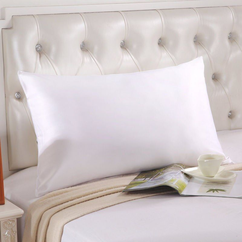 High-end custom 100% silk pure double side Silkworm silk pillow case 20x30in Mulberry silk pillow cover home pillow cases fronha