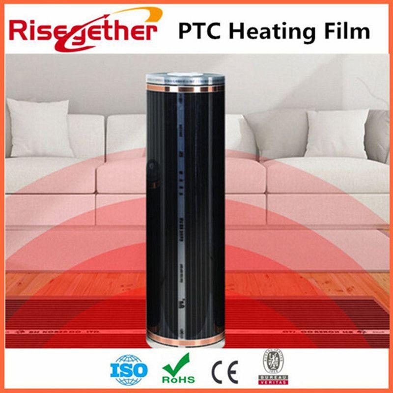 80m2  Hot Sale Underfloor Heating System 220v 150w Infrared Heating Film PTC Carbon Heating Film