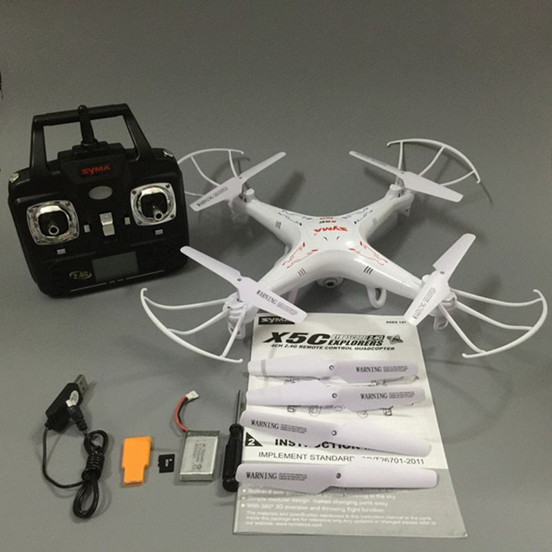 RC Drone Syma X5C-1 RC Quadcopter Drone With Camera Syma X5C Dron RC Helicopter Drones with Camera HD VS JJRC H31 H33