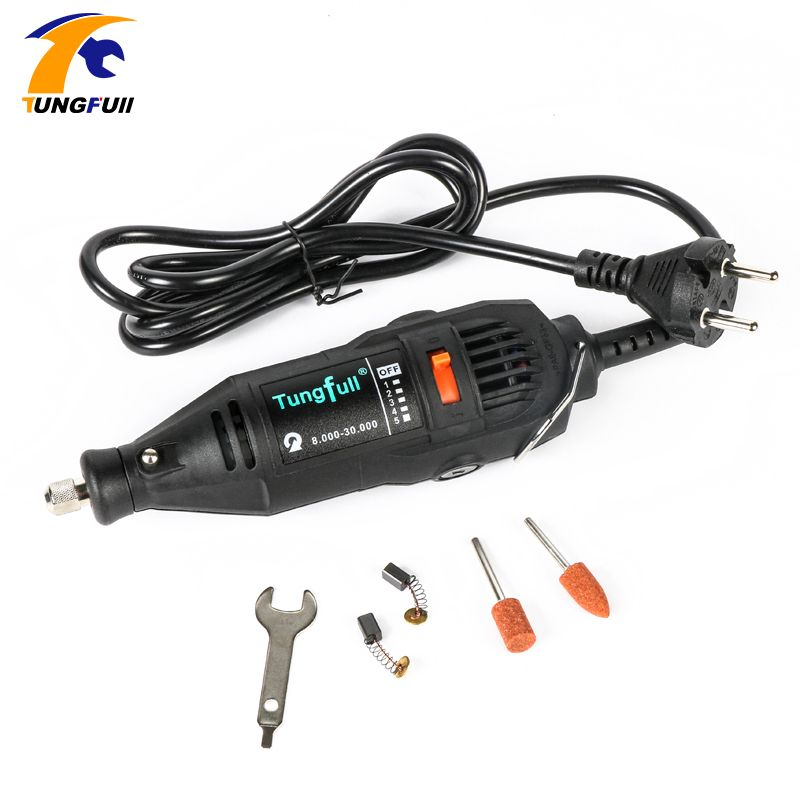 Dremel Style New 130W Tungtull Mini-mill Grinding Machine Engraving Pen Electric Drill DIY Drill Electric Rotary Tool Mini Drill