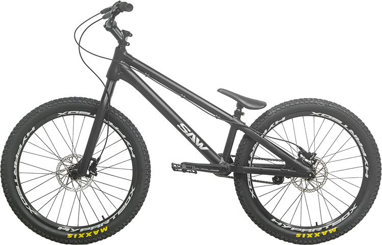 Neueste Original SAH BIKE 24 inch Straße Studien Bike ECHO Bike CZAR Inspiriert Danny MacAskill