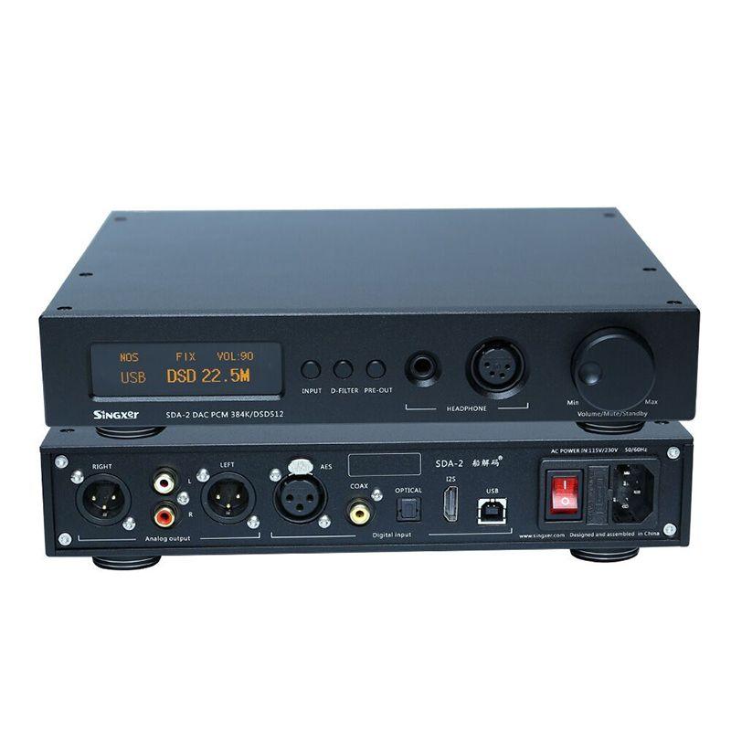 Singxer SDA-2 DAC NOS Native dekodierung DSD512, AK4497 Decoder Kopfhörer Verstärker