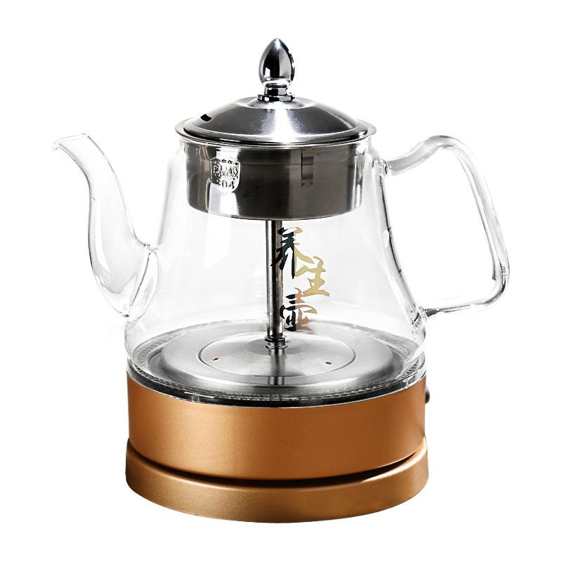 Electric kettle glass brewed tea vessel insulated fully automatic steaming teapot electric hot boiling Overheat Protection