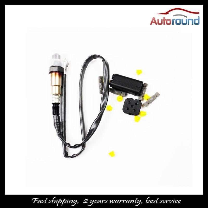 Universal Lambda Sensor OE 0258986602 Oxygen Sensor Fit for Citroen Ford Hyundai Renault Volvo VW 4 Wire O2 Sensor free shipping