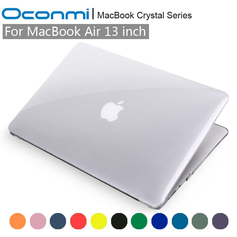 Crystal Transparent Clear Hard Case for Apple Macbook Air 13 cover Macbook Air 13.3 inch laptop bag for Macbook Air 13 case