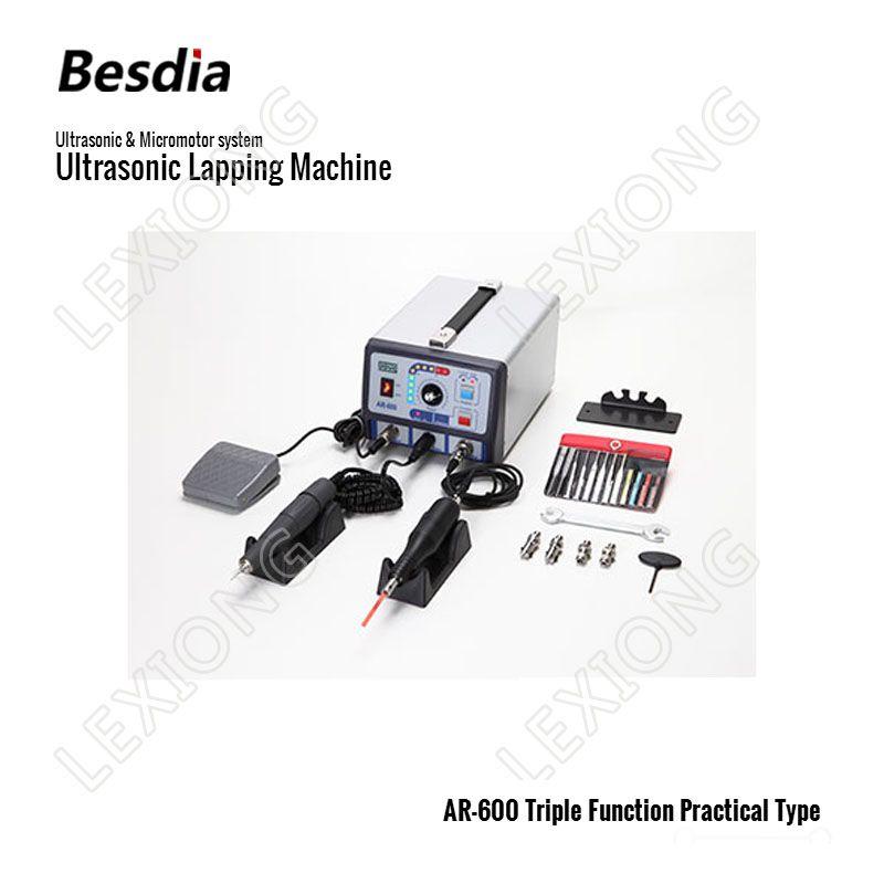 TAIWAN Besdia Ultraschall & Mikromotor system Ultraschall Läppen Maschine AR-600 Triple Funktion Praktische Art