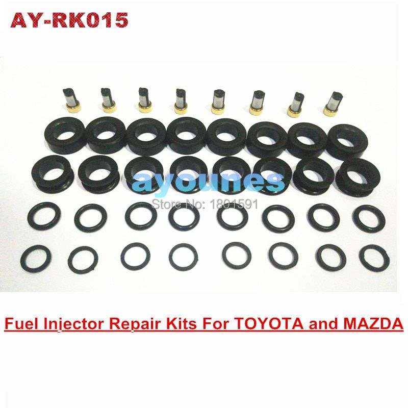 free shipping fuel injector repair kits rubber seals  kits for 195500-3030 injector for  AY-RK015