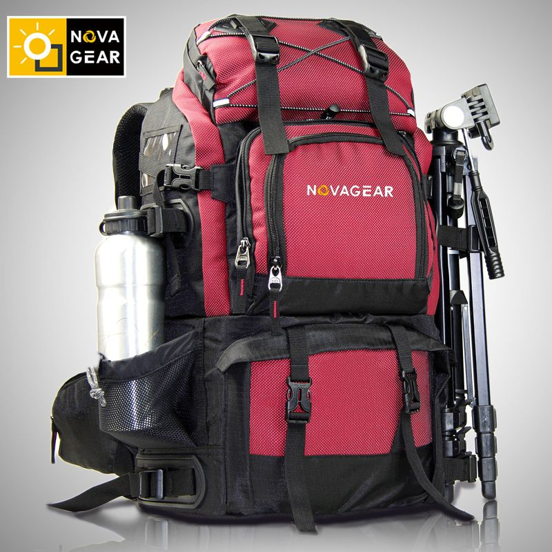 NOVAGEAR 80302 Photo Bag Camera Backpack Universal Large Capacity Travel Camera Backpack For Canon/Nikon Digital Camera