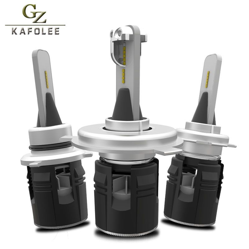 Gzkafolee H7 canbus led H4 H1 H3 H8 H11 H13 HB3 HB4 H27 9005 9007 9012 5202 D2S D1S CSP 12V 24V 9000LM 6000K Car Headlight Bulb