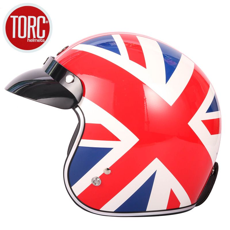 TORC T50 vintage open face brand casque motocross helmet casco capacetes motocycle helmet DOT certification