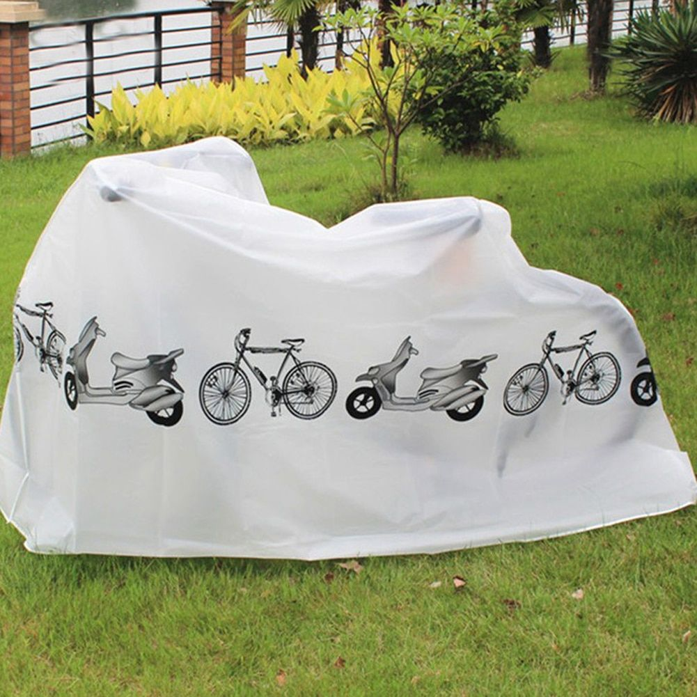 Hot Sale Outdoor Portable Waterproof Scooter Bike Motorcycle Rain Dust Cover Bicycle Protect Gear Cycling Bicycle Accessories