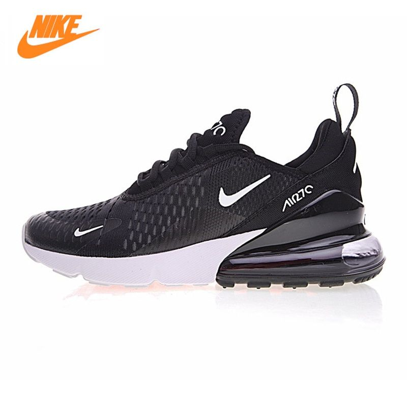 Nike Air Max 270 Men's Running Shoes, Black, Shock Absorption Non-slip Wear Resistant Breathable Lightweight AH8050 002
