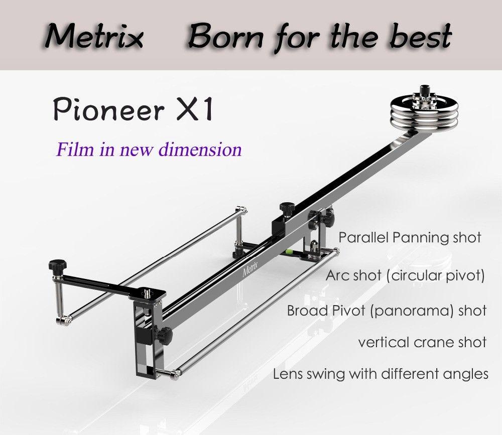 Professional Portable DV Aluminum slider focus panorama shooting Mini Jib Video camera Crane DSLR Jibs with Bag MAX Loaded 10KG