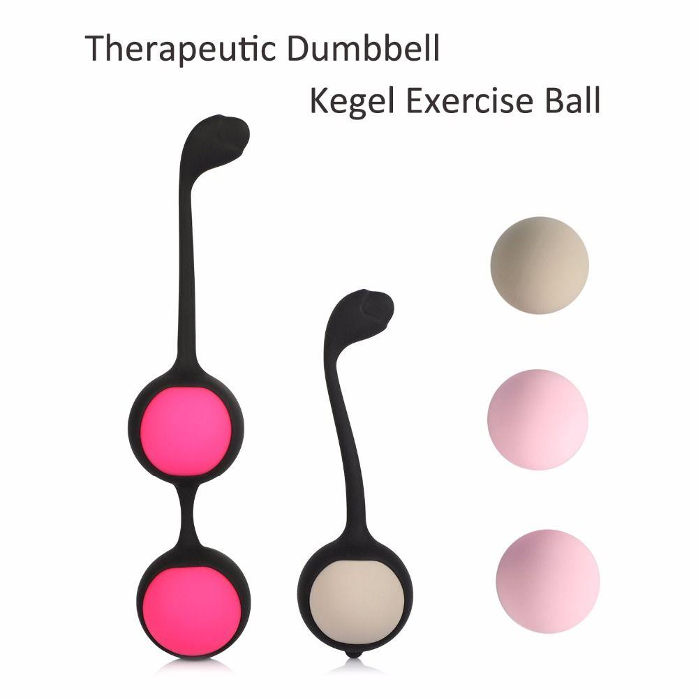 Therapeutic Dumbbel Kegel Exercise Ball,Women Vagina Balls to Make Vagina Tighten Exercise Machine,Adult Sex Toys Tool for Woman