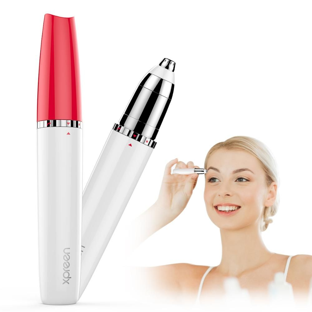 Electric Eyebrow Trimmer Shaver for Women,Eyebrow Painless Hair Removal Pens Makeup Mini Eye Brow Razor Portable Hair Epilator